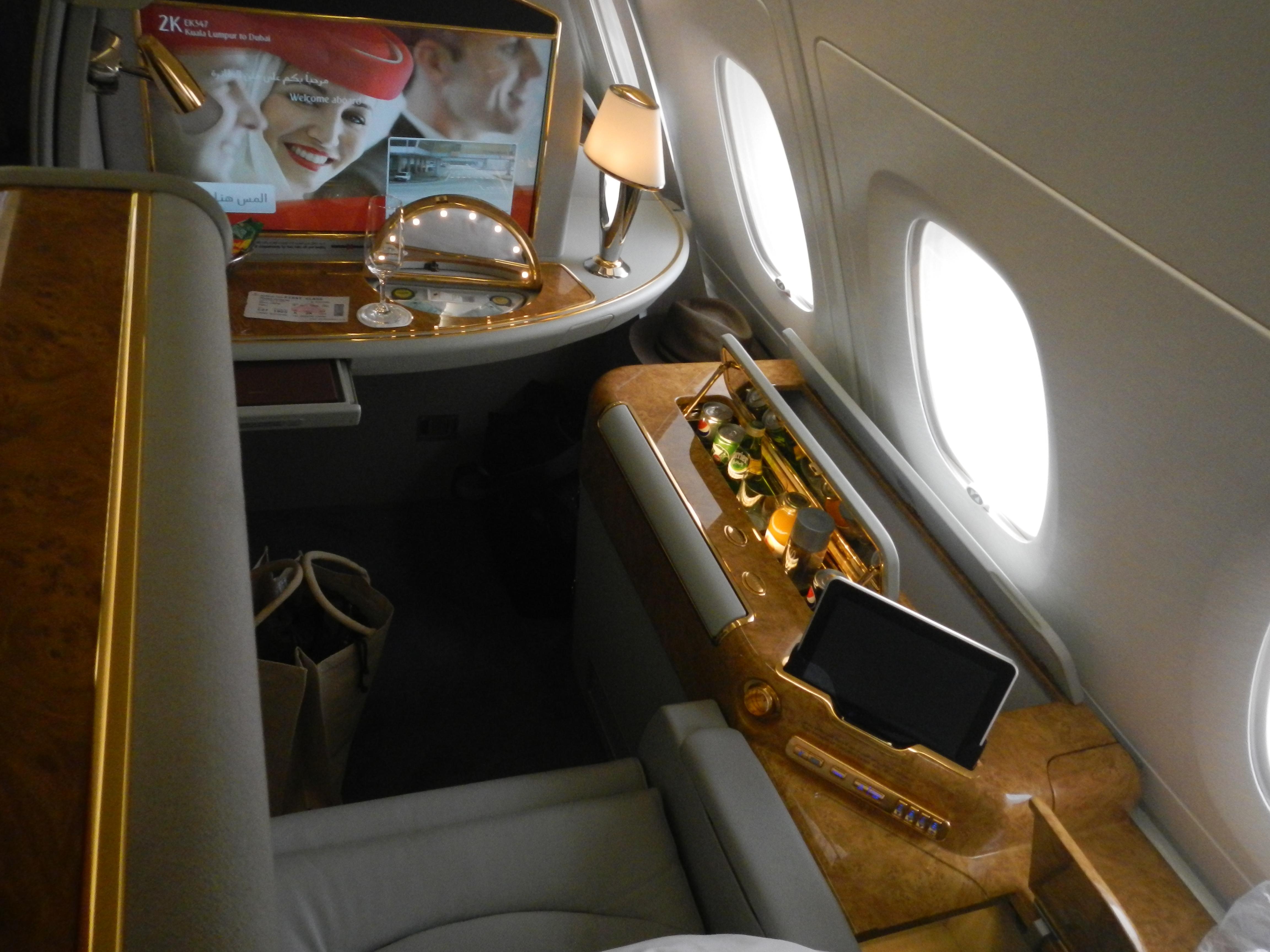 Flight from Kuala Lumpur to Dubai – EK347