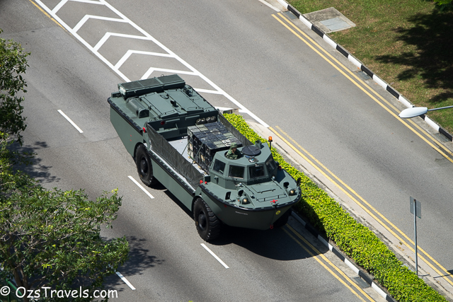 SG50 National Day Parade Practice
