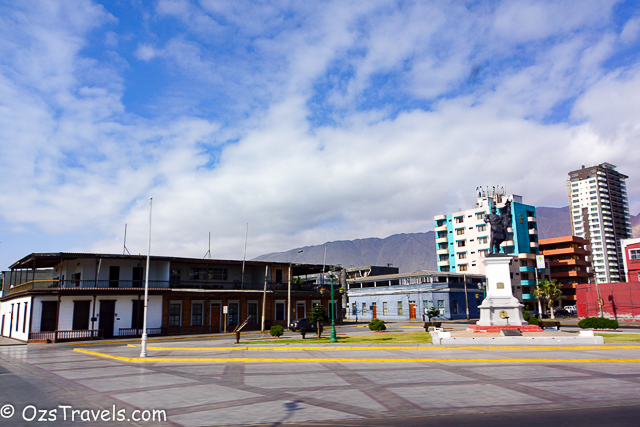 2014 South America Cruise Day 4 - Iquique Peru