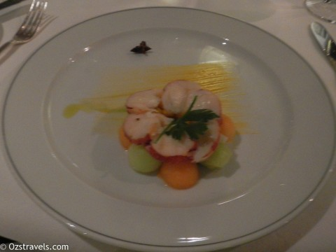 2014 South America Cruise Day 7 – Dinner in Signatures