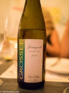2015 Grosset Singapore Wine Dinner