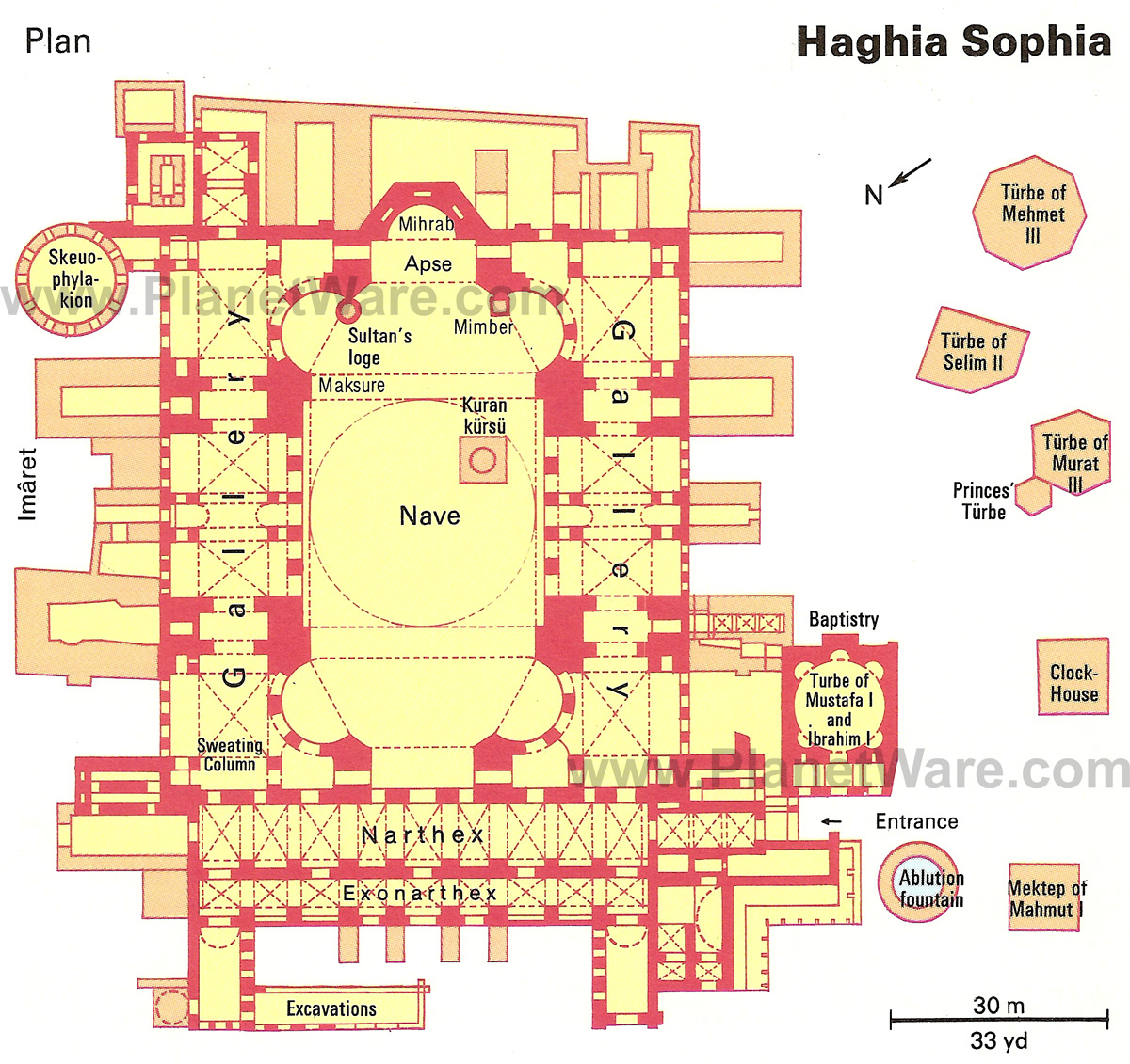 HagiaSophia Ground Floor