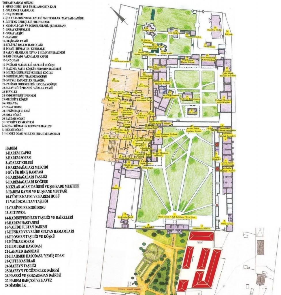 Turkey-Tour-Maps-Topkapi-Palace
