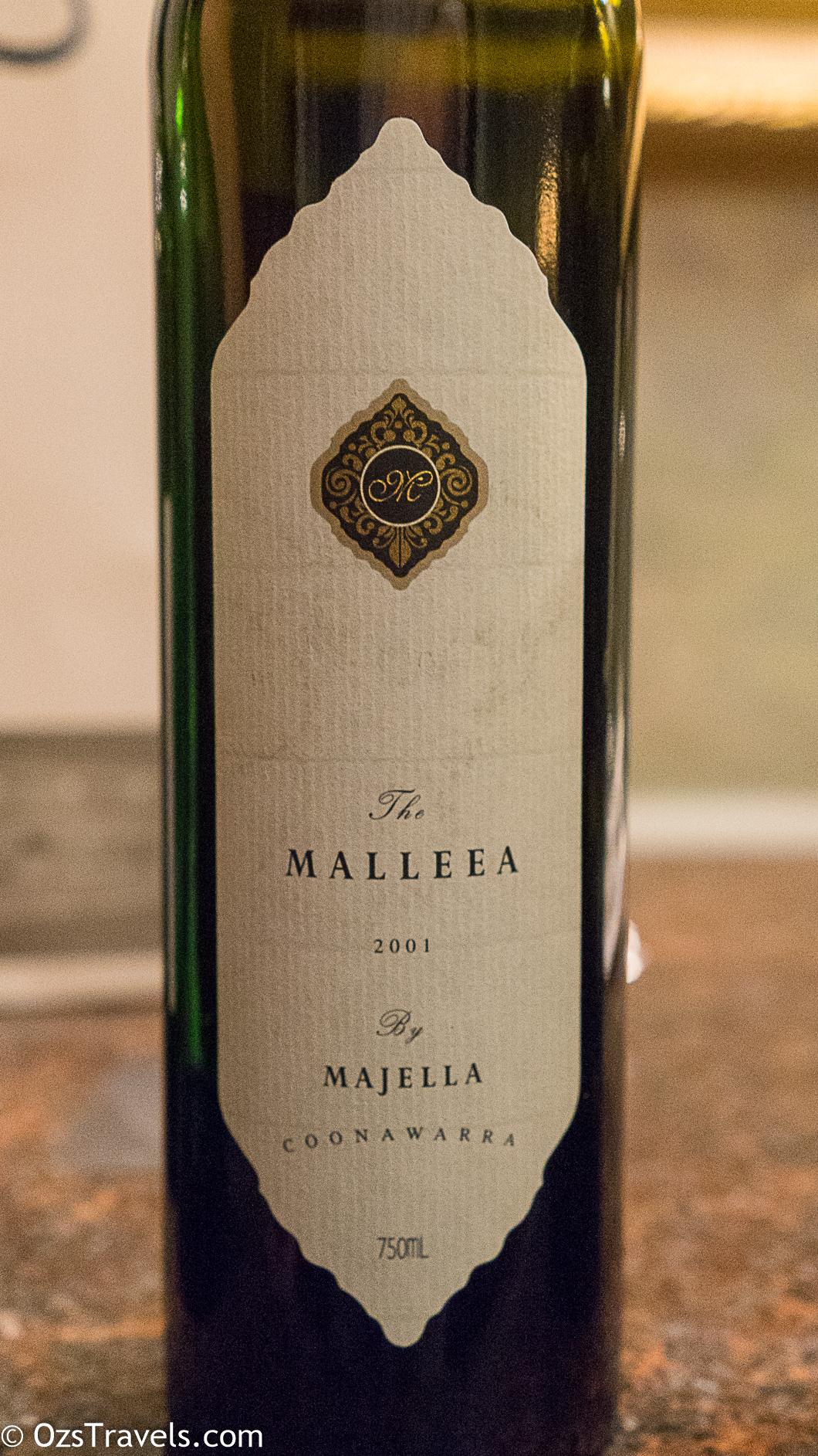 Singapore Brown Bag, 2017 March Wine Reviews, Majella The Malleea