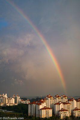 Rainbow,  My Balcony,