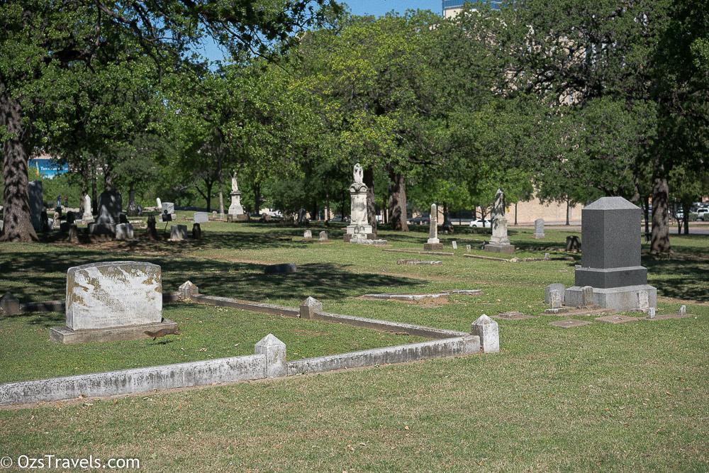 Dallas Texas,  Pioneer Park Cemetery