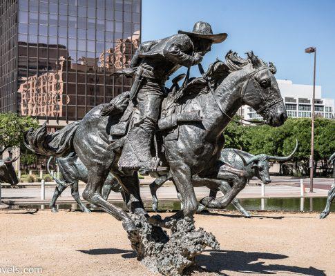 Lost in Dallas Texas Part 3 Pioneer Plaza