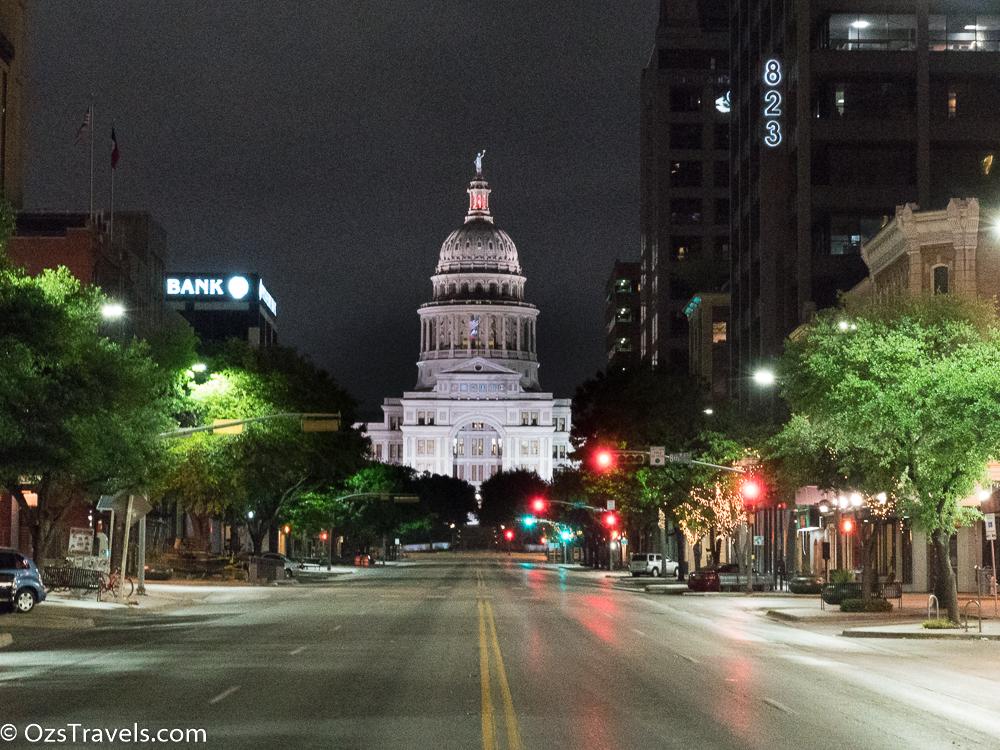 Austin Texas,  6th Street Austin Texas