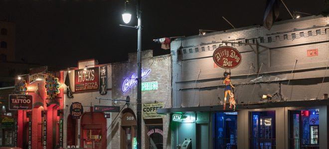 6th Street Austin Texas @ Night