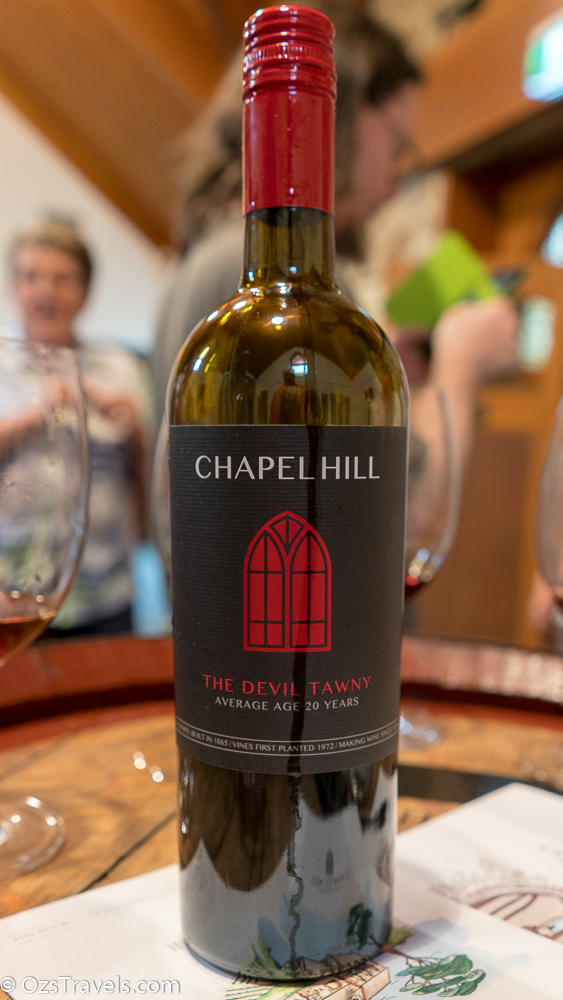 Chapel Hill Wine, McLaren Vale South Australia