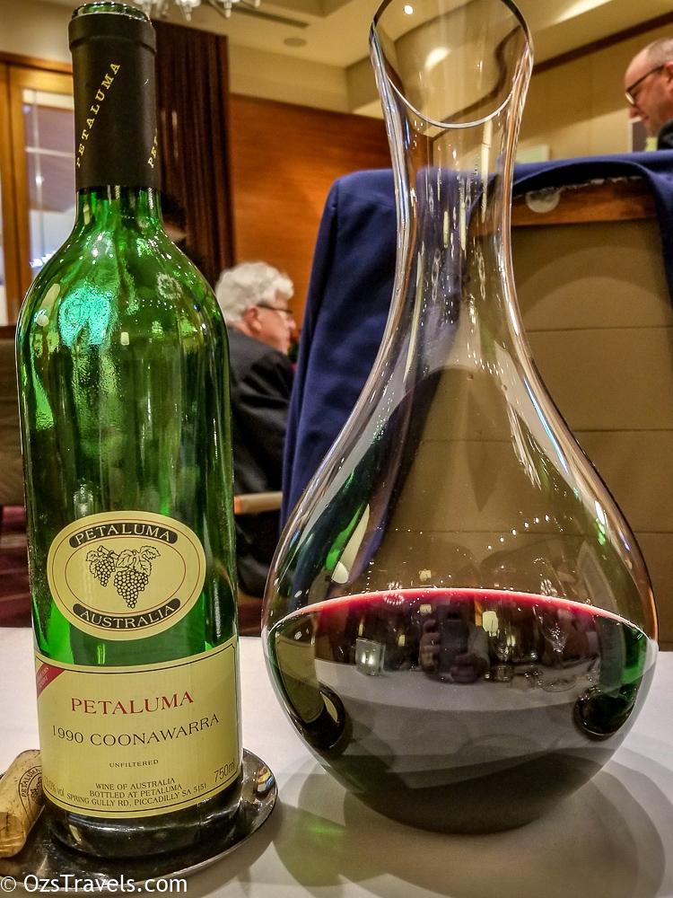 Dec 2018 Wine Reviews, Wine, 2018 Wine Reviews, Wine Reviews, 1990 Petaluma Coonawarra Red