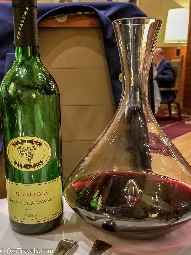 Dec 2018 Wine Reviews, Wine, 2018 Wine Reviews, Wine Reviews, 1996 Petaluma Coonawarra Red