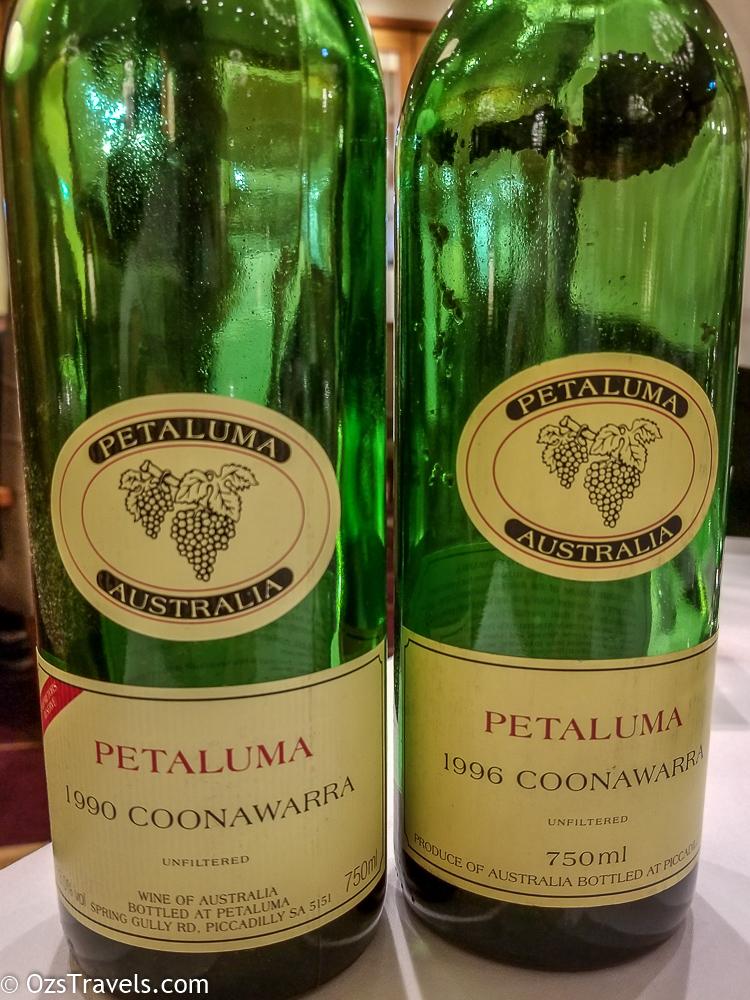 Dec 2018 Wine Reviews, Wine, 2018 Wine Reviews, Wine Reviews, 1990 Petaluma Coonawarra Red, 1996 Petaluma Coonawarra Red
