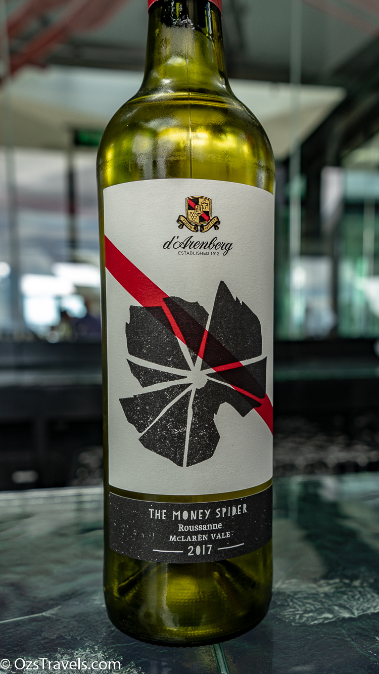 d'Arenberg, d'Arenburg McLaren Vale,  Oz's Wine Reviews,  Oz's Winery Reviews,
