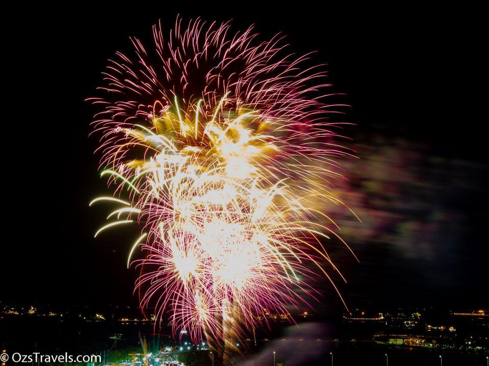 Fireworks,  Chingay Fireworks,  2019 Chingay Fireworks, Singapore,  My Balcony,