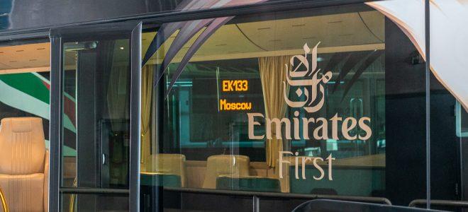 Dubai to Moscow – EK133