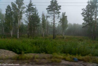 070Ч Moscow to Irkutsk, Siberia,  Oz's Siberian Trek,  Russia, Russian Railways, Trans Siberian Day 4
