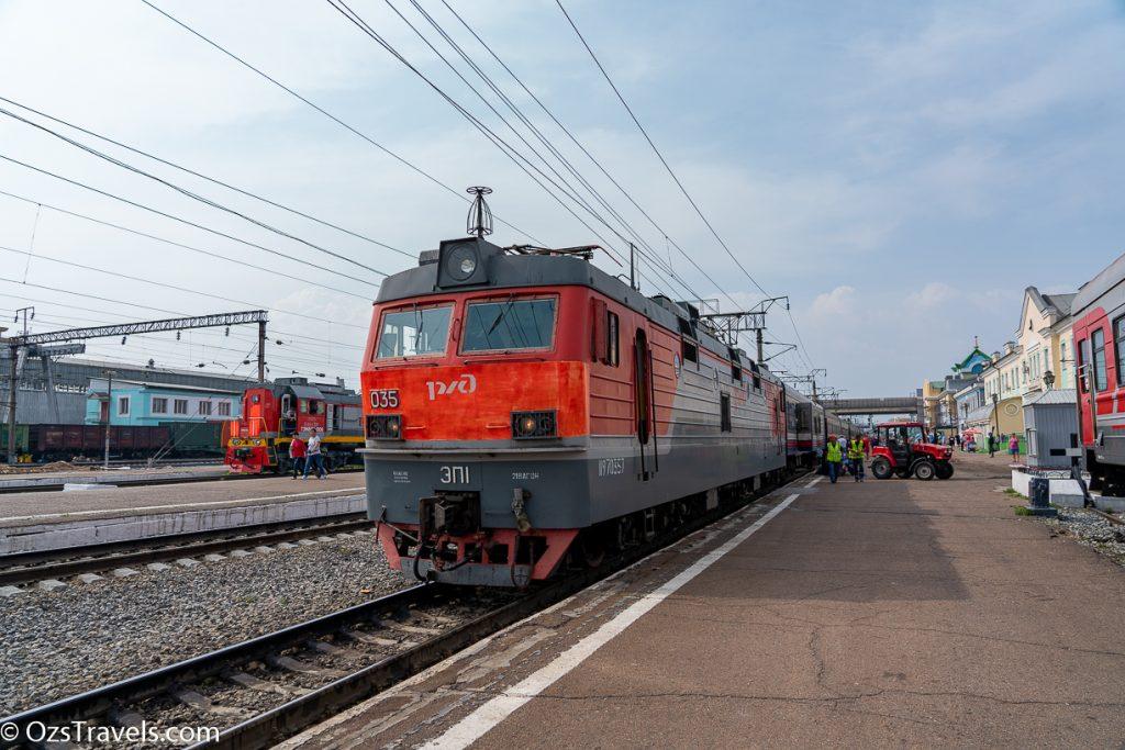 002ЩА from Irkutsk to Vladivostok, 002ЩА from Irkutsk to Vladivostok Day 1, Siberia,  Oz's Siberian Trek,  Russia, Russian Railways, Trans Siberian Day 5