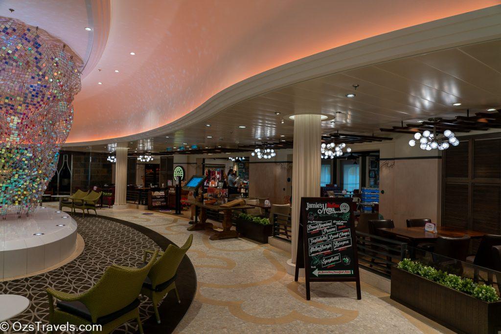 Cruise to Nowhere, Quantum of the Seas, Jamie's Italian,